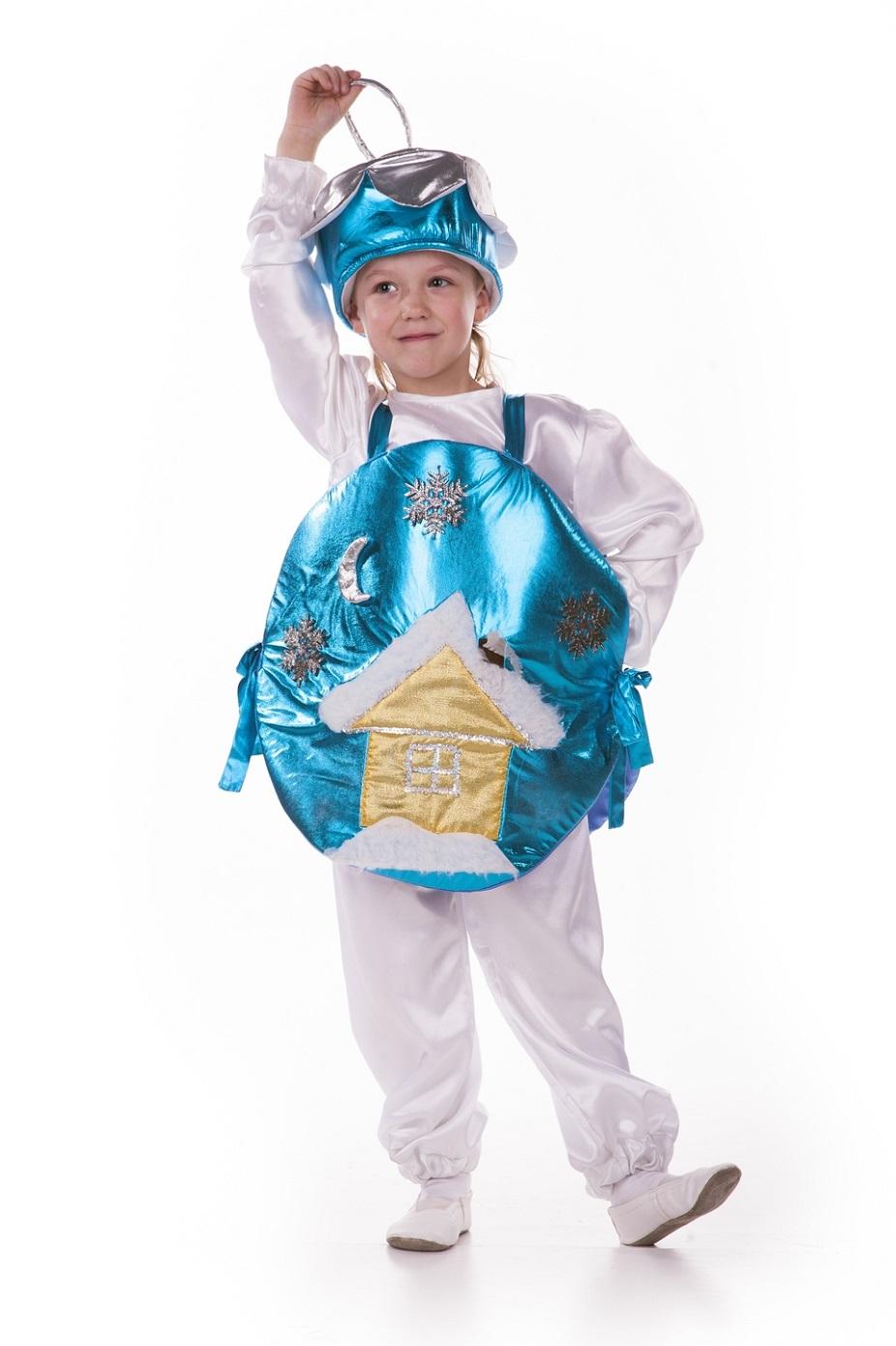 Как сделать костюм новогодний игрушки