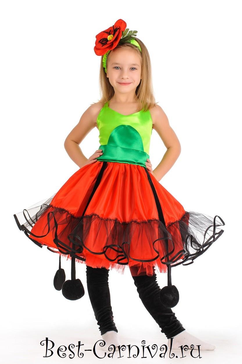 Детский костюм цветочка