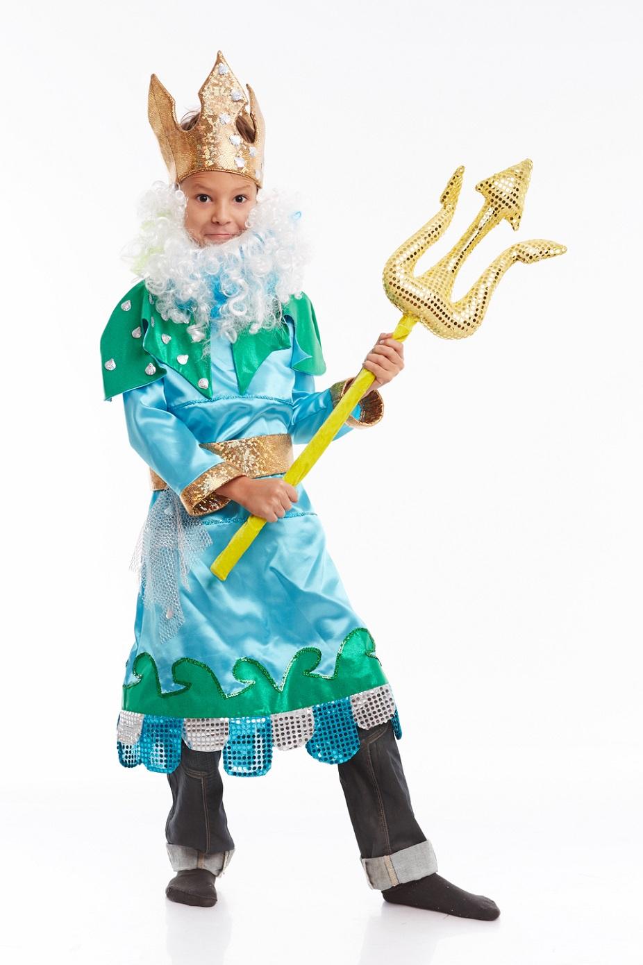 Костюм на день нептуна для мальчика в садик