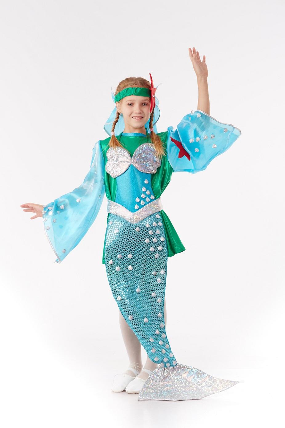 Как сделать новогодний костюм русалки
