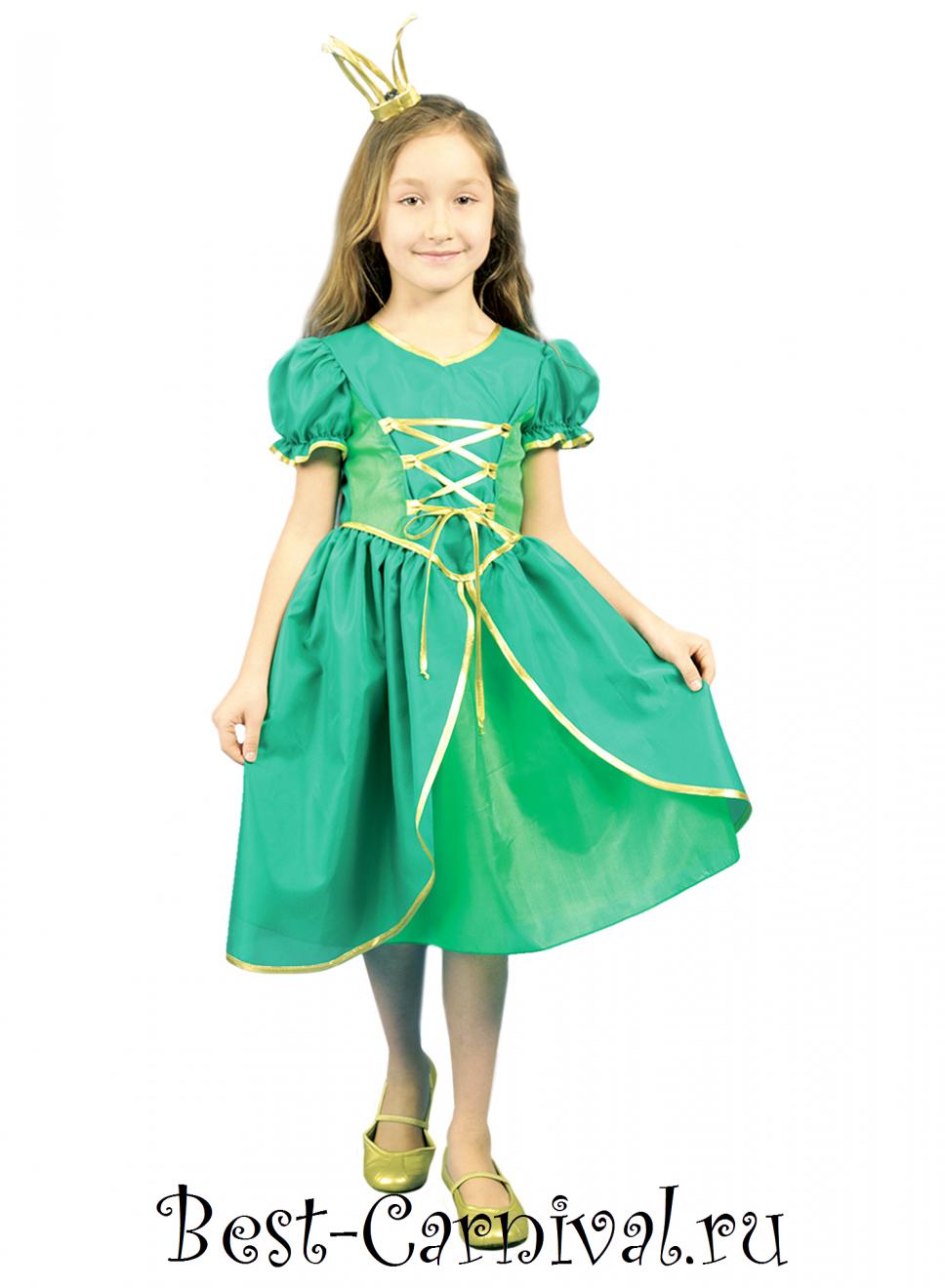 Костюм детский Царевна-лягушка | Карнавальные костюмы - photo#21