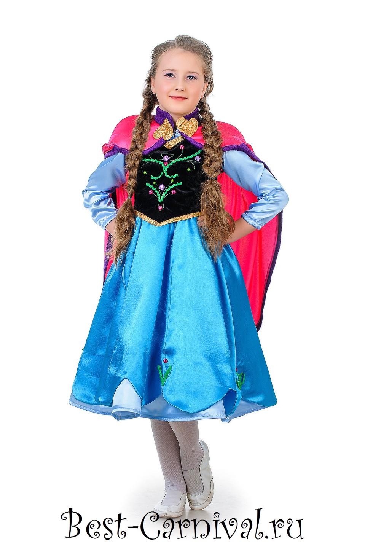 Анна холодное сердце костюм выкройка