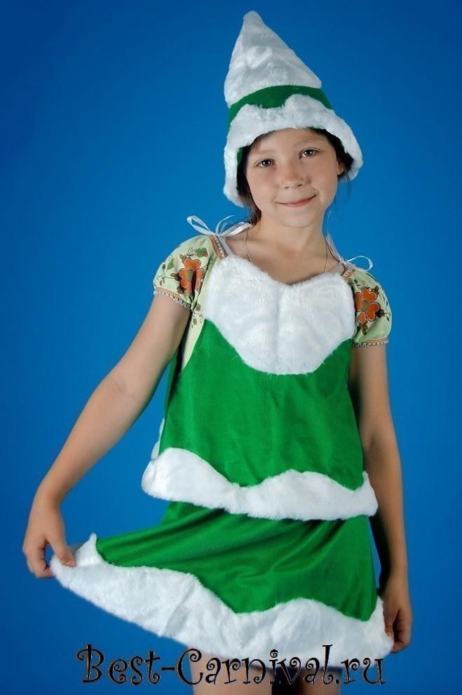 Купить новогодний костюм Ёлочки для детей - photo#24