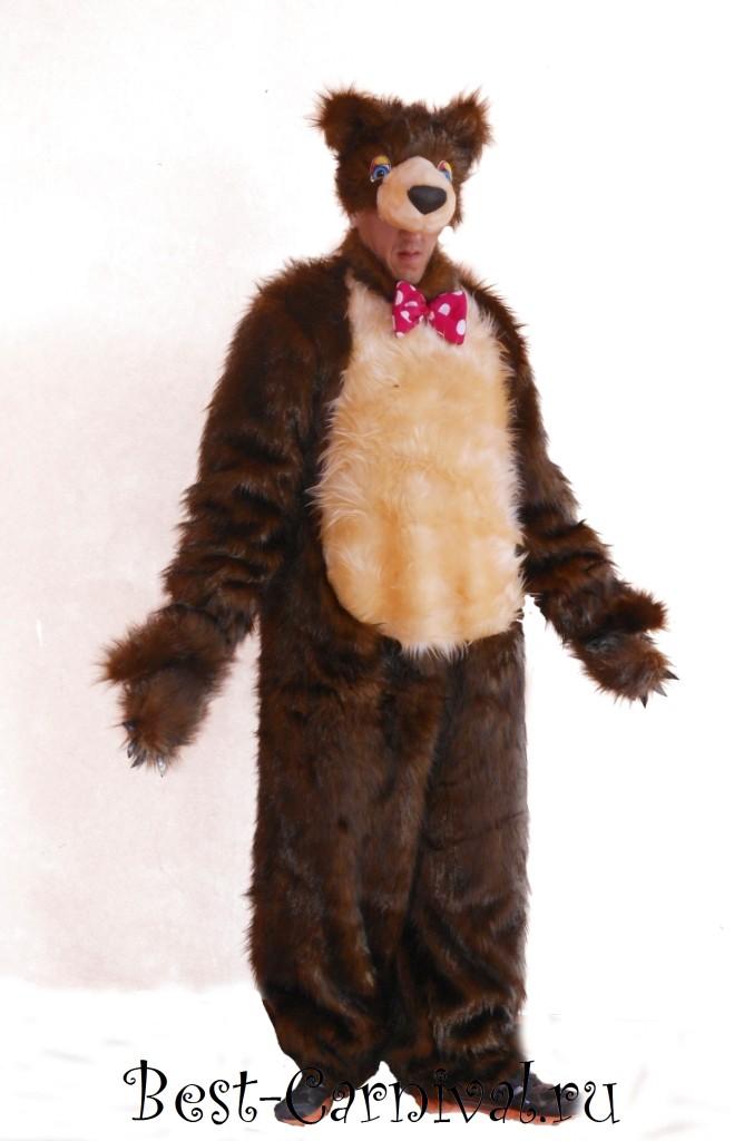 Карнавальный костюм Медведя с бантом для взрослых купить ... - photo#28